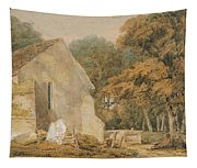 No.0735 A Country Churchyard, C.1797-98 Tapestry