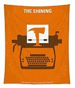 No094 My The Shining Minimal Movie Poster Tapestry by Chungkong Art