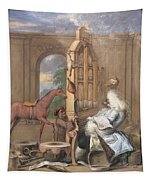 No.0961 The Charming Brute Tapestry