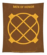 No099 My Men Of Honor Minimal Movie Poster Tapestry