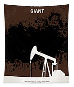No102 My Giant Minimal Movie Poster Tapestry