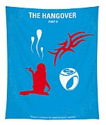 No145 My The Hangover Part 2 Minimal Movie Poster Tapestry