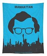 No146 My Manhattan Minimal Movie Poster Tapestry