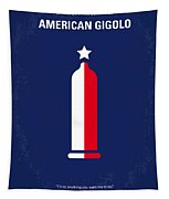 No150 My American Gigolo Minimal Movie Poster Tapestry