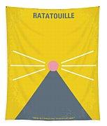No163 My Ratatouille Minimal Movie Poster  Tapestry