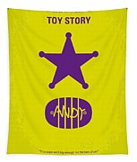 No190 My Toy Story Minimal Movie Poster Tapestry