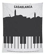 No192 My Casablanca Minimal Movie Poster Tapestry