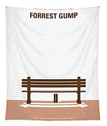 No193 My Forrest Gump Minimal Movie Poster Tapestry