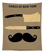 No195 My Gangs Of New York Minimal Movie Poster Tapestry