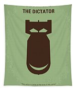 No212 My The Dictator Minimal Movie Poster Tapestry