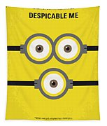 No213 My Despicable Me Minimal Movie Poster Tapestry
