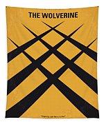 No222 My Wolverine Minimal Movie Poster Tapestry