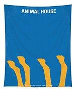 No230 My Animal House Minimal Movie Poster Tapestry