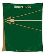No237 My Robin Hood Minimal Movie Poster Tapestry