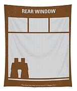 No238 My Rear Window Minimal Movie Poster Tapestry