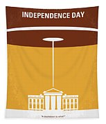 No249 My Independence Day Minimal Movie Poster Tapestry