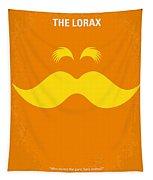 No261 My The Lorax Minimal Movie Poster Tapestry by Chungkong Art