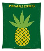 No264 My Pineapple Express Minimal Movie Poster Tapestry