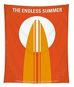 No274 My The Endless Summer Minimal Movie Poster Tapestry by Chungkong Art