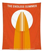 No274 My The Endless Summer Minimal Movie Poster Tapestry