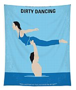 No298 My Dirty Dancing Minimal Movie Poster Tapestry