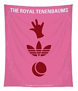 No320 My The Royal Tenenbaums Minimal Movie Poster Tapestry