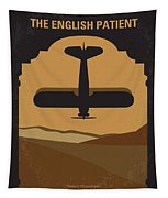 No361 My The English Patient Minimal Movie Poster Tapestry