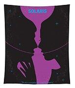 No385 My Solaris Minimal Movie Poster Tapestry