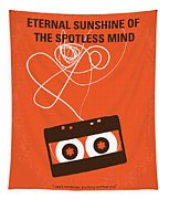 No384 My Eternal Sunshine Of The Spotless Mind Minimal Movie Pos Tapestry