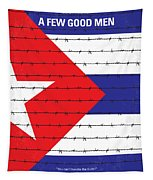 No417 My A Few Good Men Minimal Movie Poster Tapestry