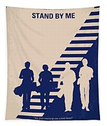 No429 My Stand By Me Minimal Movie Poster Tapestry