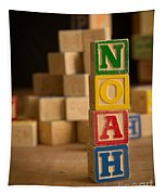 Noah - Alphabet Blocks Tapestry