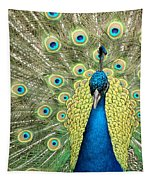 Noble Peacock Tapestry