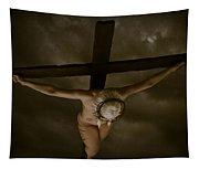 Nordic Crucifix Tapestry