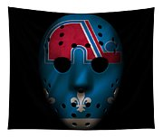 Nordiques Jersey Mask Tapestry