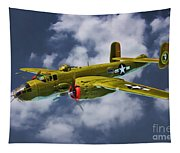 North American B-25j Tapestry