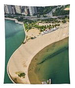 North Avenue Beach And Castaways Restaurant Tapestry