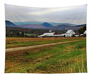 North Haverhill Farm In Fall Tapestry