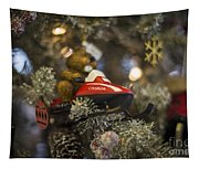 North Pole Express Tapestry