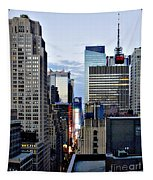 North Up Seventh Avenue Tapestry
