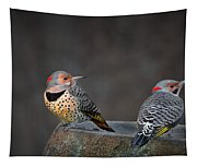 Northern Flickers Tapestry