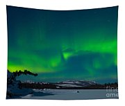 Northern Lights Or Aurora Borealis Tapestry