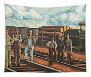 Northern Pacific Railway Tapestry