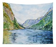 Norway Fjord Tapestry