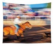 Norwood Colorado - Cowboys Ride Tapestry