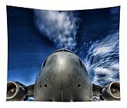 Nose Of A C-17 Tapestry