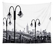 Nostalgia-liberty State Park Tapestry