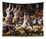Notre Dame Versus Navy Tapestry