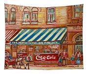 Notredame Circa 1940 Tapestry