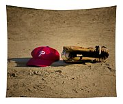 Now Pitching For The Phillies Tapestry